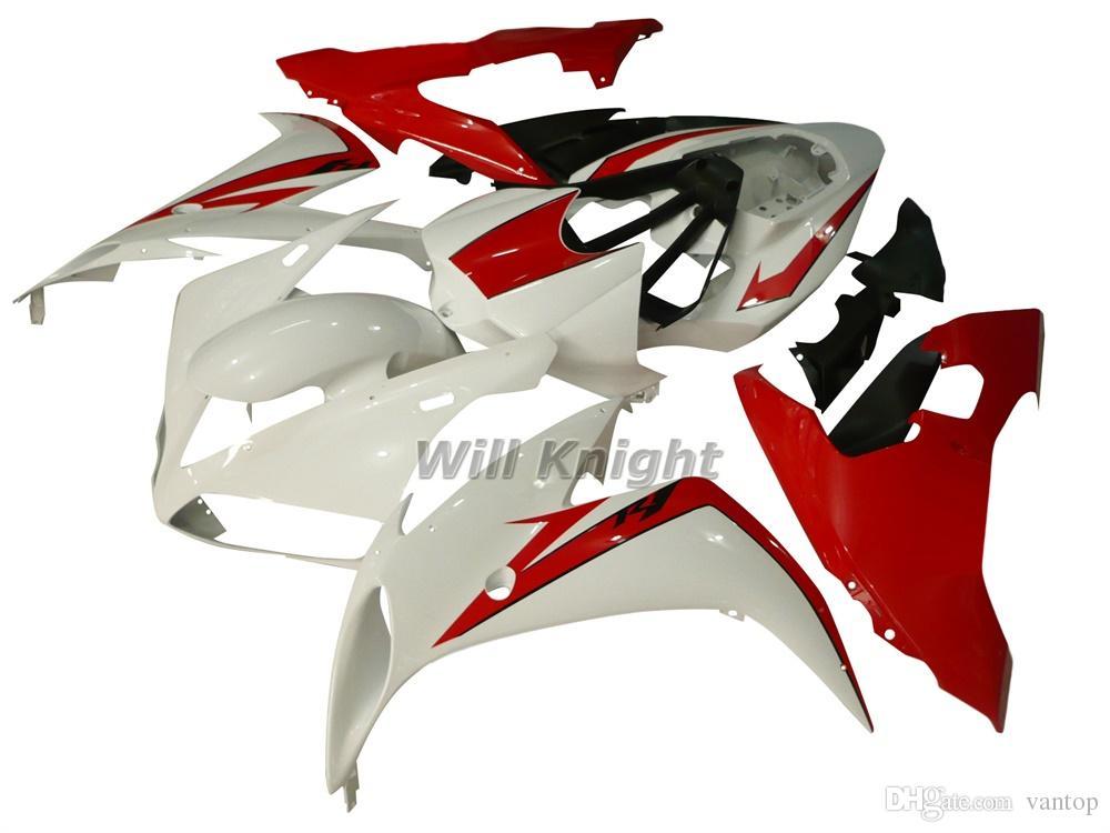 Kit complet de carénage de corps de cadre de moto pour YZF1000 YZF R1 2004 2005 2006 Kit de carénage de corps d'injection d'ABS noir