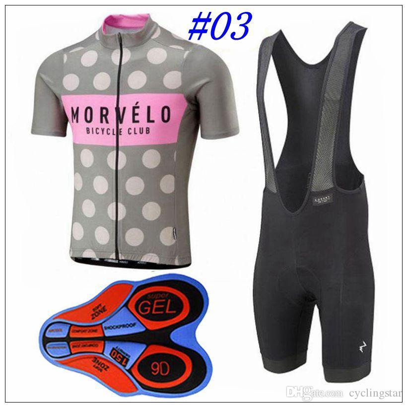 323f462b0 Morvelo 2018 Cycling Clothing Short Sleeves Cycling Jersey With 9D Gel Pad Shorts  Set Racing Mtb Bike Sportswear Quick Dry Ropa Ciclismo M12 Best Bib Shorts  ...
