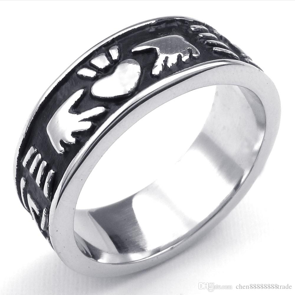 Wedding Rings Ireland Cheap: 2019 072403 Wholesale Men'S Bands Ireland Claddagh Rings