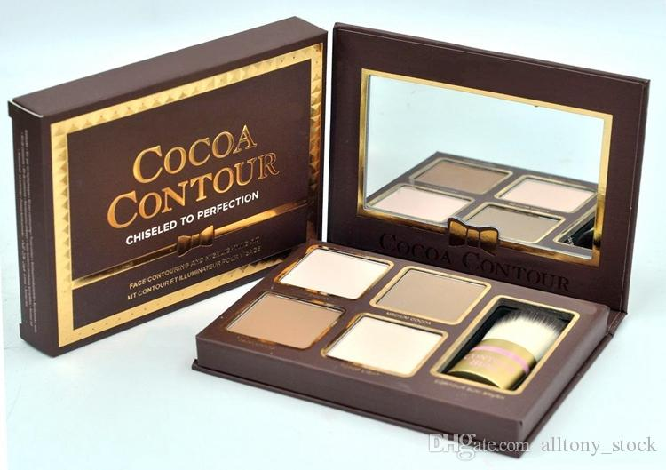 New COCOA Contour Kit Highlighters Palette Nude Color