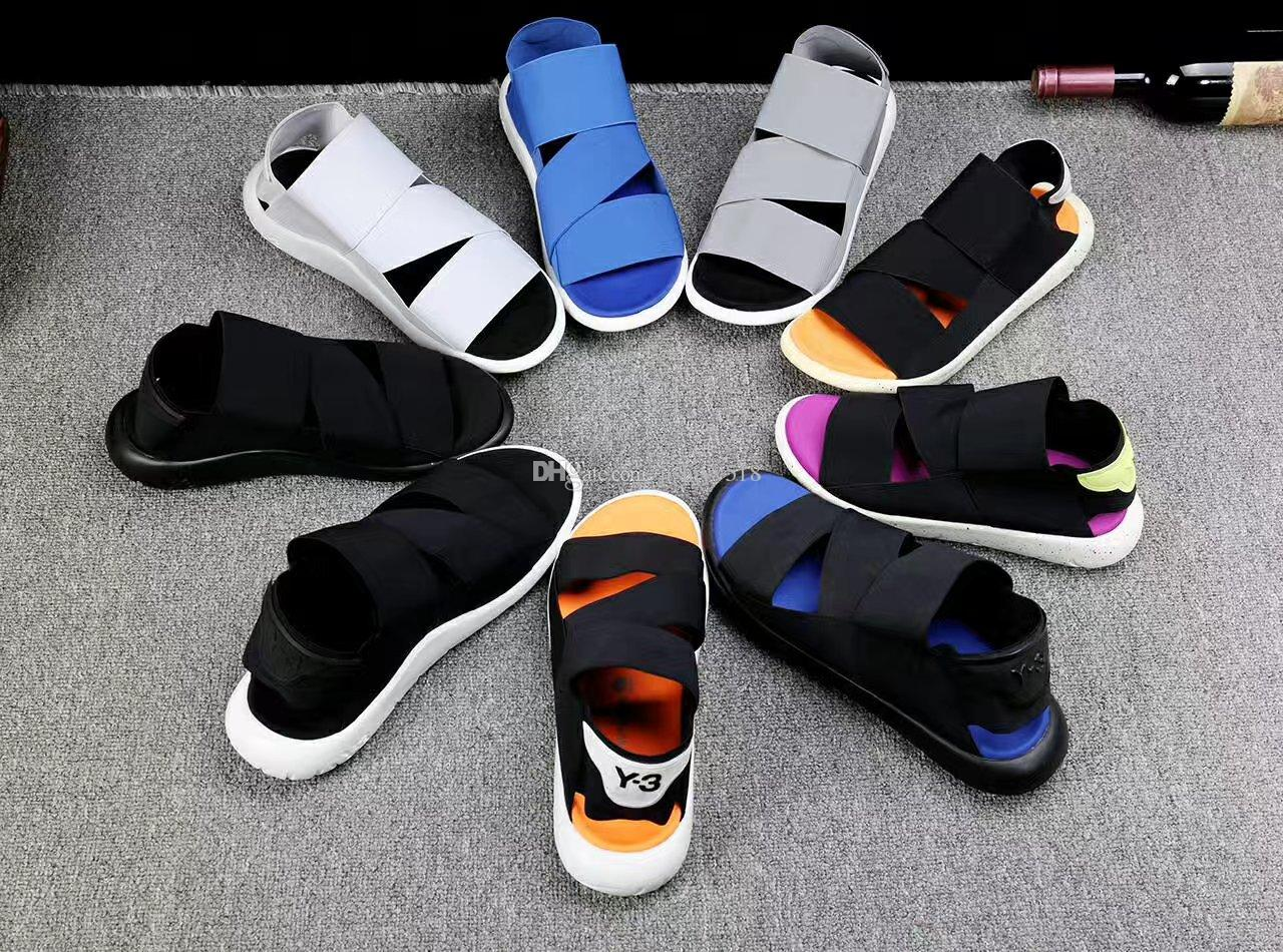 e5ac06d3e9d68 Y3 Slippers Sandals Men Sandals Lazy Teen Crowd Bottomed Sandals Y 3 Summer  Slippers Word Drag Drag Recreation