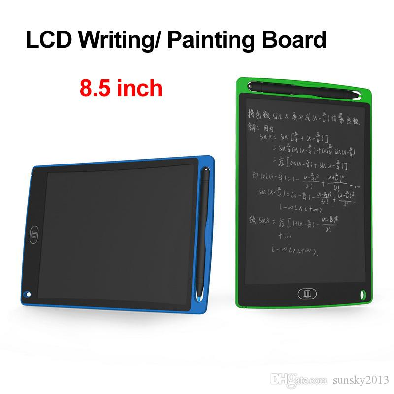 8.5 inch Wordpad LCD Drawing Writing Board Graphics Painting Tablet with Stylus Pen Graffiti Handwriting Tablets for Kids Adult Blackboard