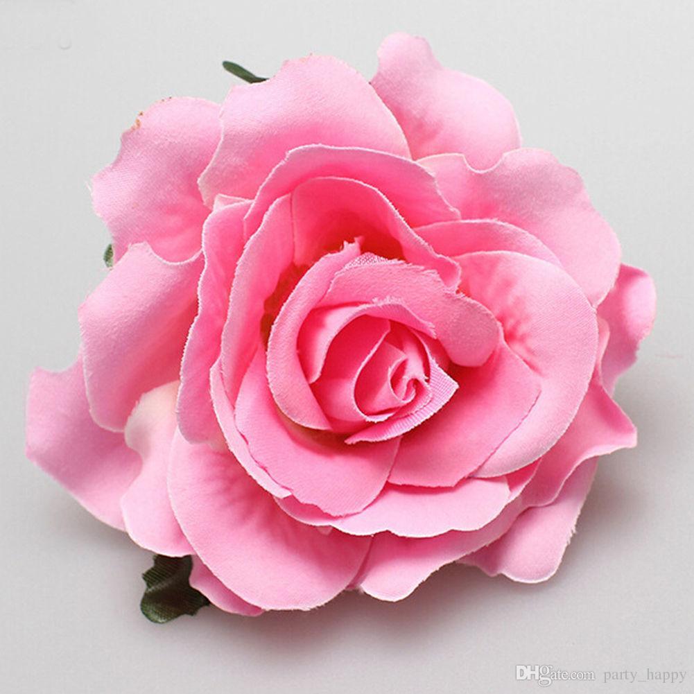 Bridal Rose Flower Hairpin Brooch Wedding Bridesmaid Party Beatuiful Accessories Hair Clip