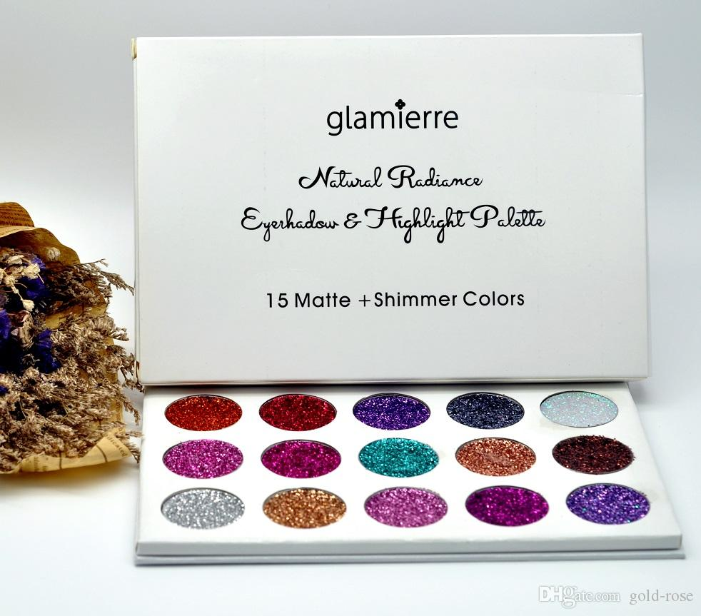 Colore Parete Glitter : New brand glamierre glitter eyeshadow palette makeup eye