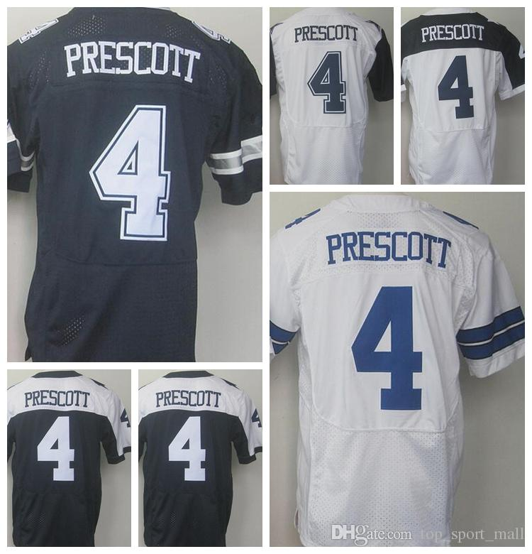 reputable site 52af9 89135 low price dak prescott embroidered jersey c639e e84e0