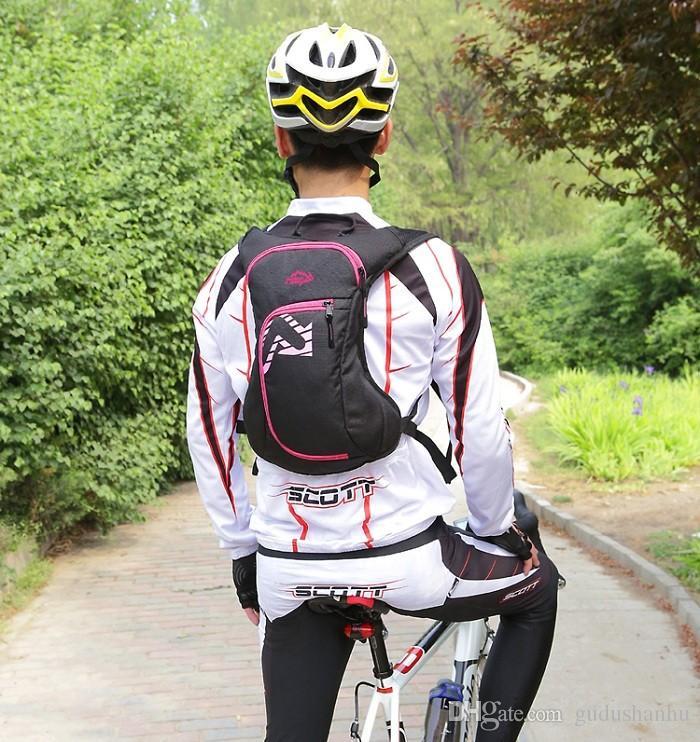 Fahrrad-Rucksack-Spielraum-Rucksäcke Rennrad Tasche Tornister Laufen Bergpack 12L 61
