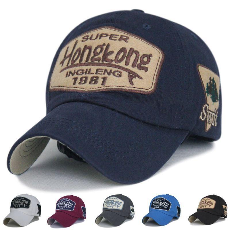 7c550079889 2016 Vintage Baseball Cap Men Women Hongkong Cotton Adjustable Mens  Snapback Hats Casquette Men Baseball For Adult Kangol Baseball Caps From  Watchlove