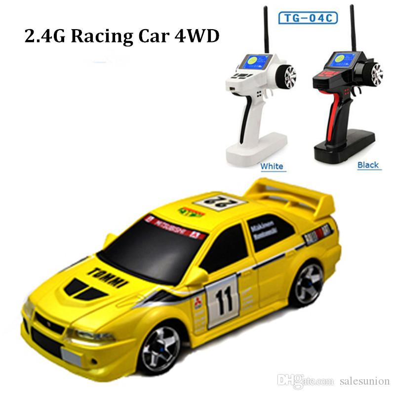 High speed remote control car 4wd rc truck 1/28 lancer evo model rc drift cars juguetes drop shipping