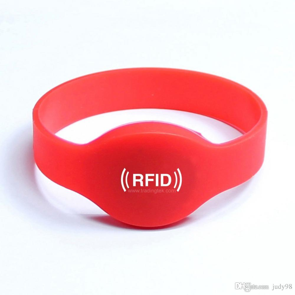 a and white background bracelet rfid picture red stock photo on