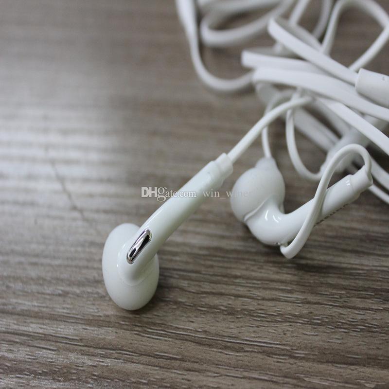 ¡El mejor! Auriculares estéreo de los auriculares estéreos del auricular S6 con los auriculares del control remoto del micrófono del cable de alambre para la galaxia S6 / edge G9200 S5 de Samsung