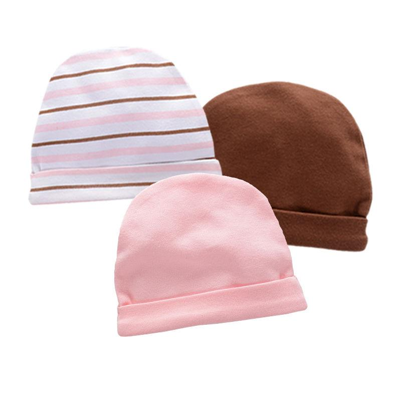 358372a65c6 Hat for A Boy Girl Baby Newborn for Winter Gift Caps Kids Hat 100 ...