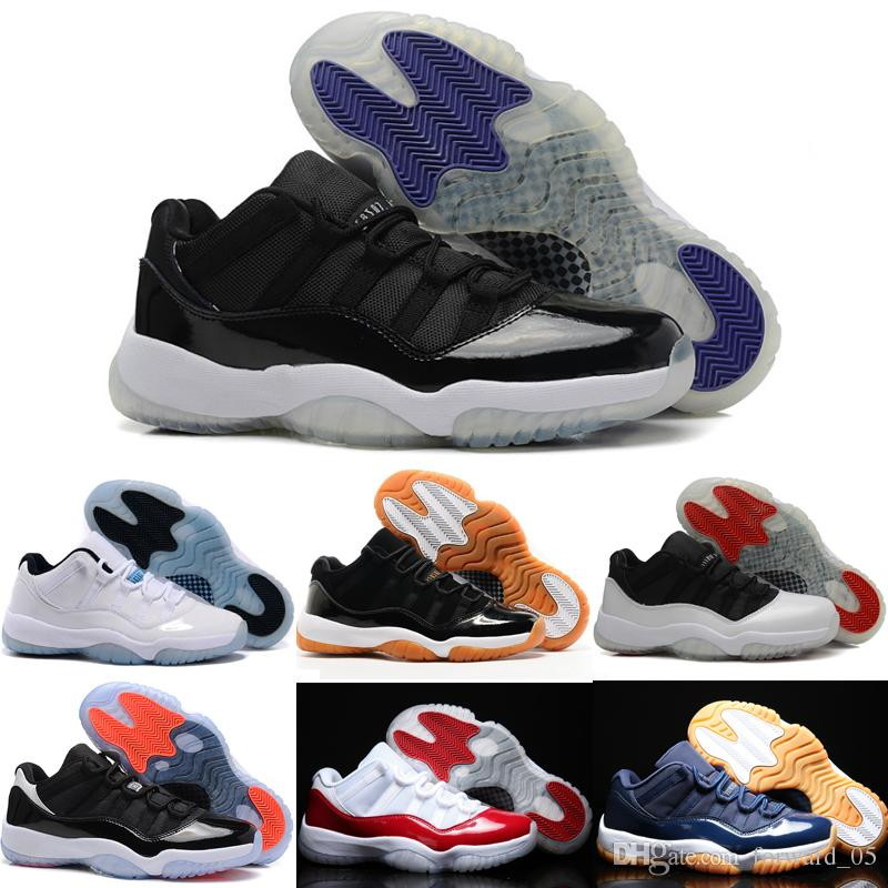Wholesale 2018 Cheap Basketball Shoes Men Women 11 XI Low Boots Top ... cbdb5338c8