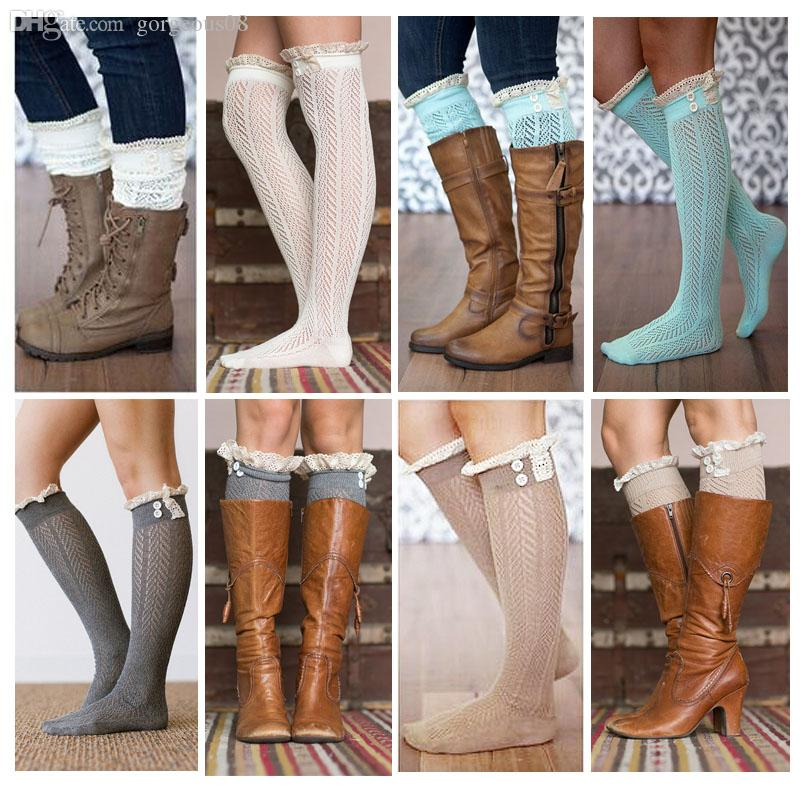9677e4dfde8 Wholesale 2015 Nice Lace Boot Socks For Women Cotton Leg Warmer For Choose  Polainas Canada 2019 From Gorgeous08