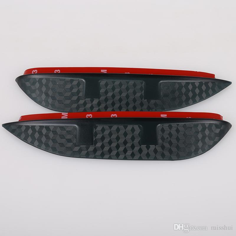 Стайлинга автомобилей углерода зеркало заднего вида дождь бровей дождь водонепроницаемый гибкие лезвия протектор аксессуары для Subaru XV 2014