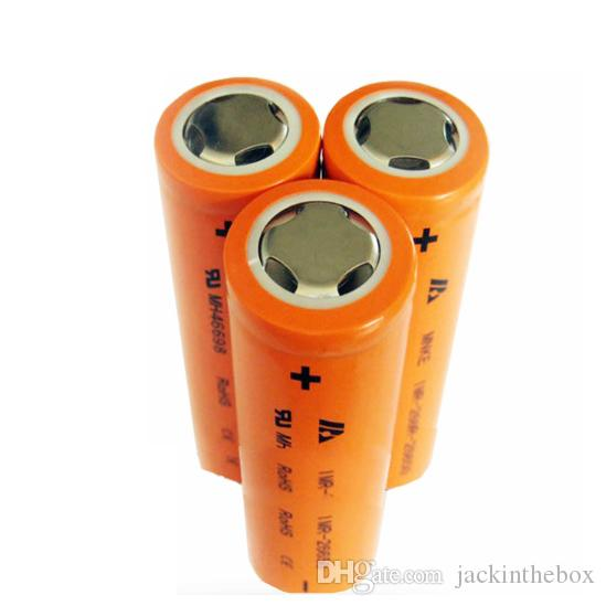 Newest Product MNKE 26650 Flashlight Battery 3.7V 3500mAh High Capacity Rechargeable Li-ion Battery Fit LED Flashligh Vaporizer Mods Fedex S