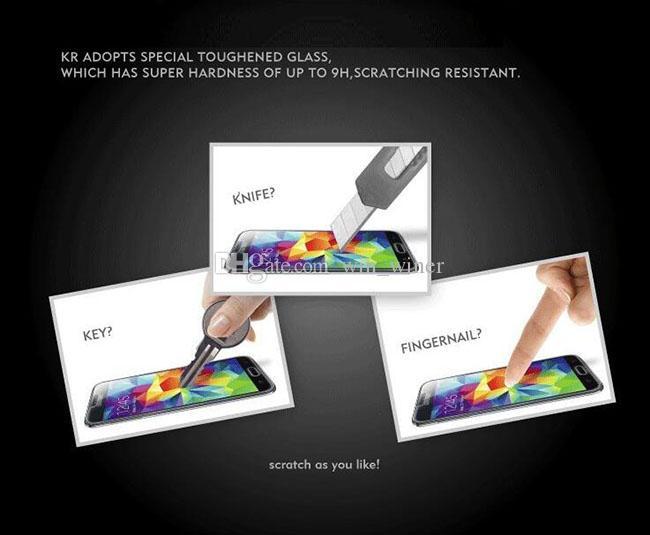 2016 Новый 0.26 мм 9 H 2.5 D закаленное стекло протектор экрана для Samsung Galaxy S7 / SM-G930A / SM-G9300 200 шт. Бесплатная доставка