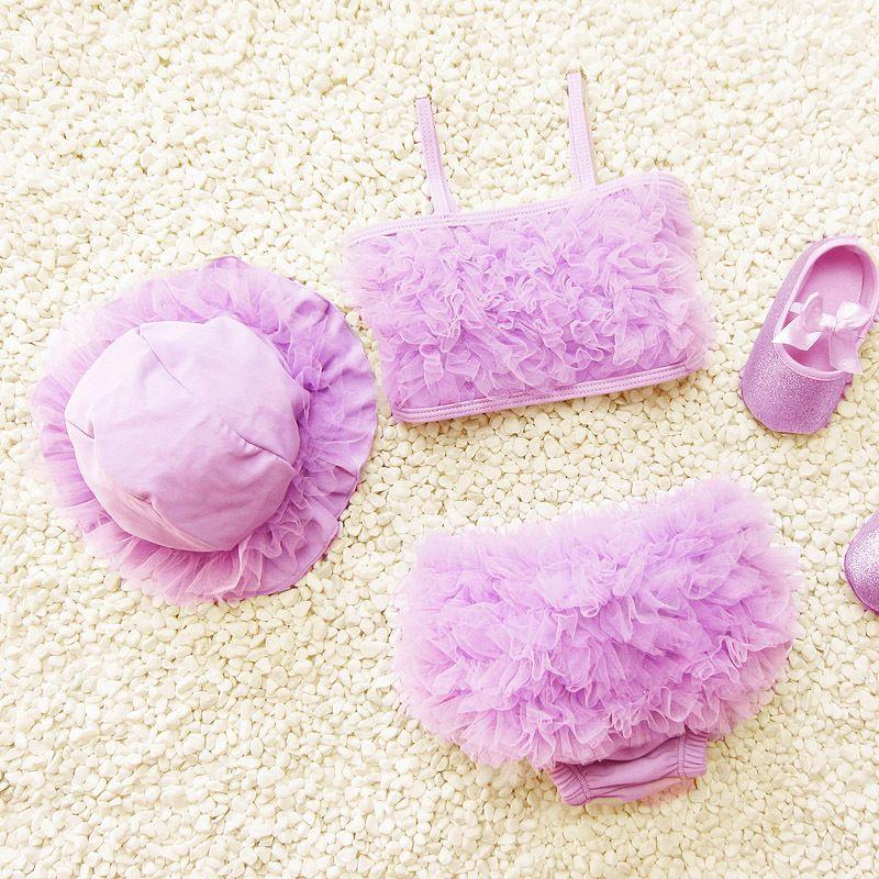 Compre Traje De Bano De Bebe De Moda 2016 Nuevo Juego De Bikini De