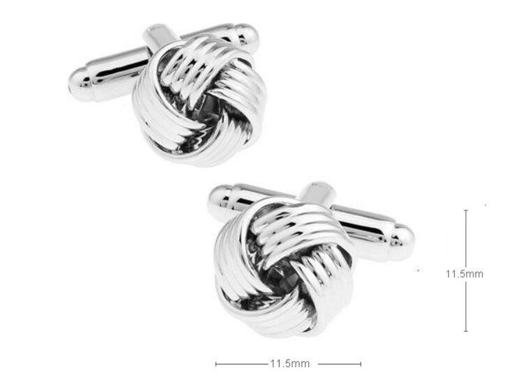 Fried dough twist Cuff Links Silver Cuff Links shirts Cufflinks For Mens Jewelry French cufflinks wedding Best Fathers Day Xmas gift