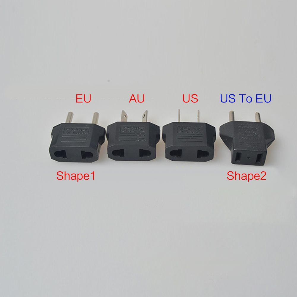 Fast Shipping USA US To EU Plug Adapter Travel Charger Adaptador Converter Universal AC Power Electrical Plug Socket