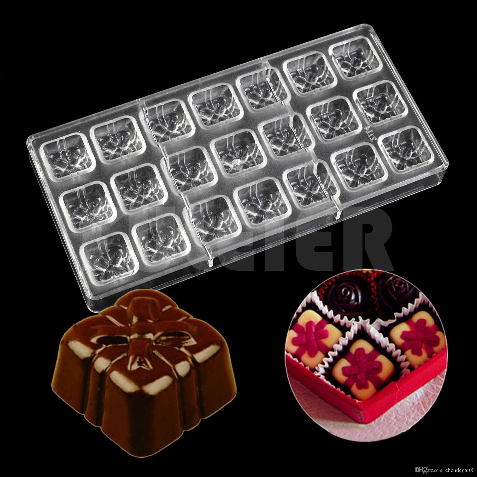 Grosshandel Diy Backen Geschenkboxen Form Fur Schokoladenform