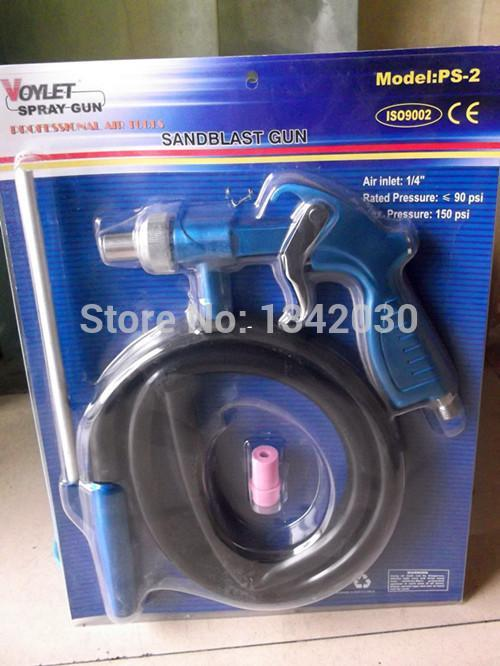 Free Shipping HIGH QUALITY VOYLET PS-2 Sandblasting Spray Gun Kit