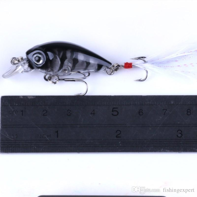 New Box-packed Crankbaits Fishing Lures Suits Plastic Fishing Baits 52g Minnow Hard Baits with Feather Hook for Saltwater