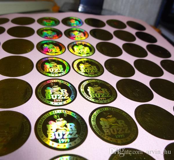 10000 шт./комплект ! самоклеющиеся пользовательские голограмма этикетки наклейки дизайн дизайн логотипа . Бесплатный дизайн ! аннулировать при удалении