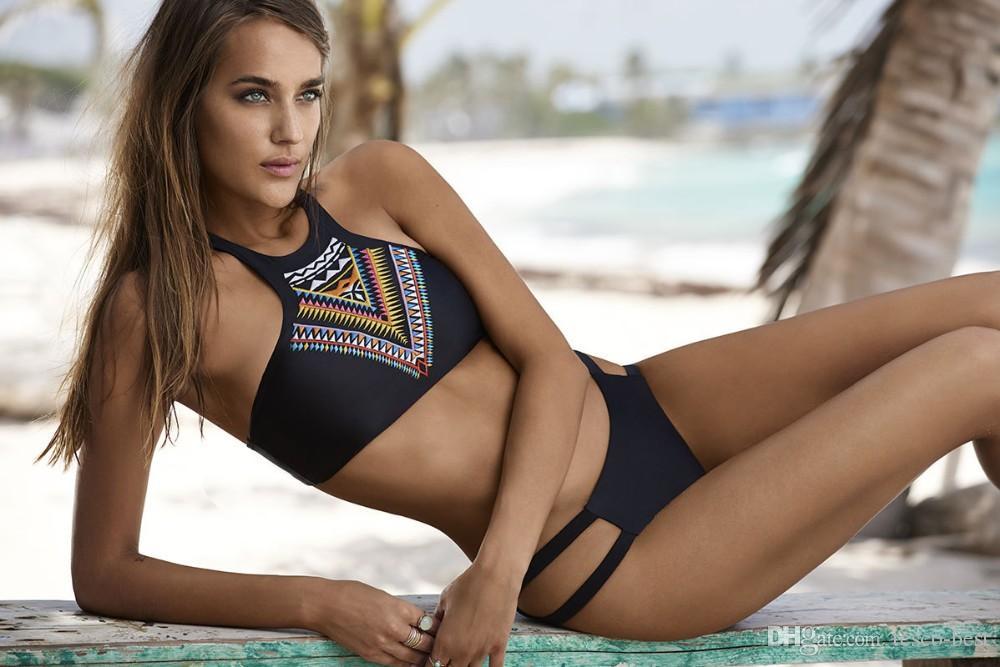 Acheter Bikini 2016 5 Couleurs Suittop Maillots De Bain Femmes Pad