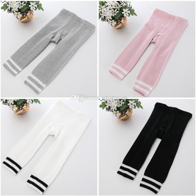 Thick Baby Leggings Girls Boys Fashion Striped Warm Slim Pants Cotton Baby Tights 17103105
