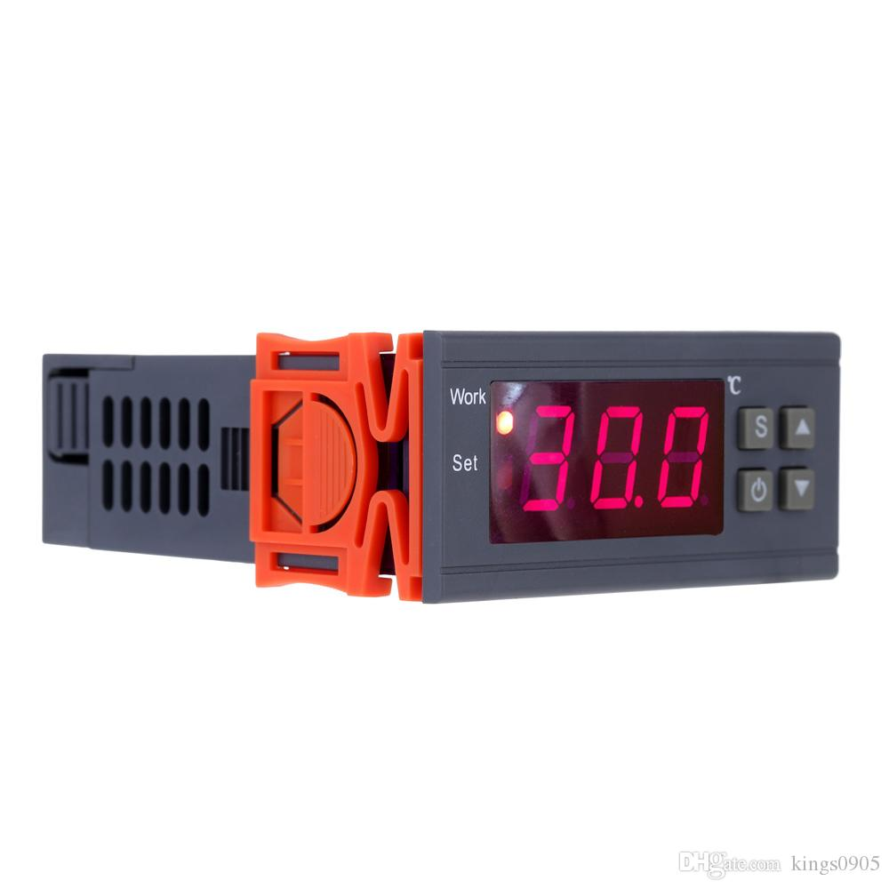 250V 10A Digital thermometer Temperature Controller thermostat thermal regulator -50~110 Celsius Degree Thermocouple with Sensor