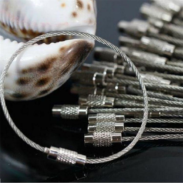 Yeni En kaliteli Anahtarlık Küçük Pençe popolar paslanmaz çelik Anahtarlıklar yüzük 500 adet toptan anahtarlıklar B0397