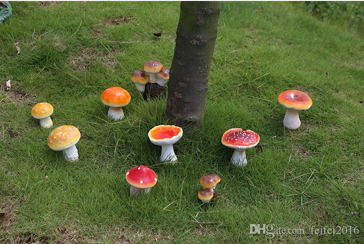 Acheter Dans Un Ensemble Artificiel Coloré Champignon Jardin De Fées ...