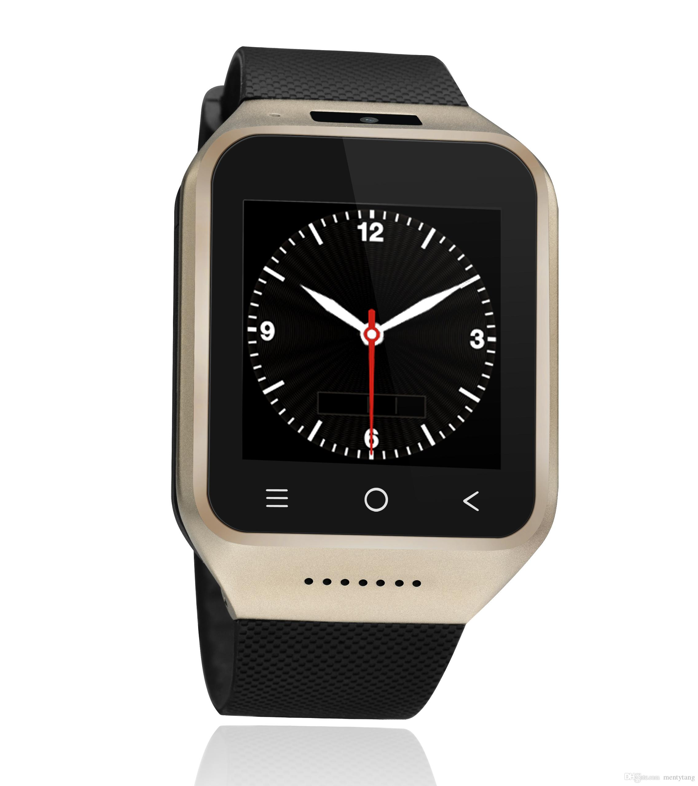 WIFI Watch;ZGPAX S8 1.5 Inch Android 4.4 3G SIM Smart Watch With 4GB ROM 2.0MP Camera Phone Watch With Email GPS WIFI