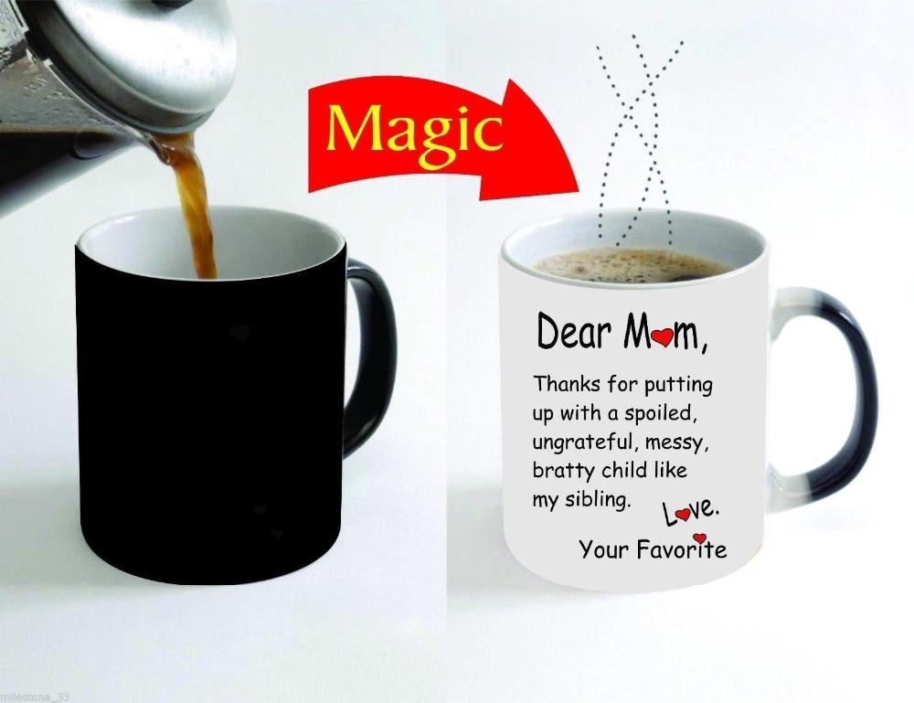 Wholesale Mother Gift Mom Beer Mug Home Decal Hot Reveal Cup Cold