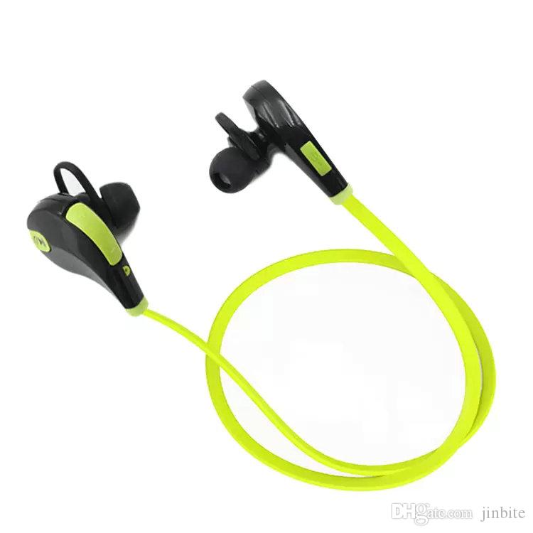 Portable Neckband Noise Cancelling Stereo Headset Sport In Ear Earphone Earbuds Microphone Running QY7 wireless bluetooth headphones OM-CA6