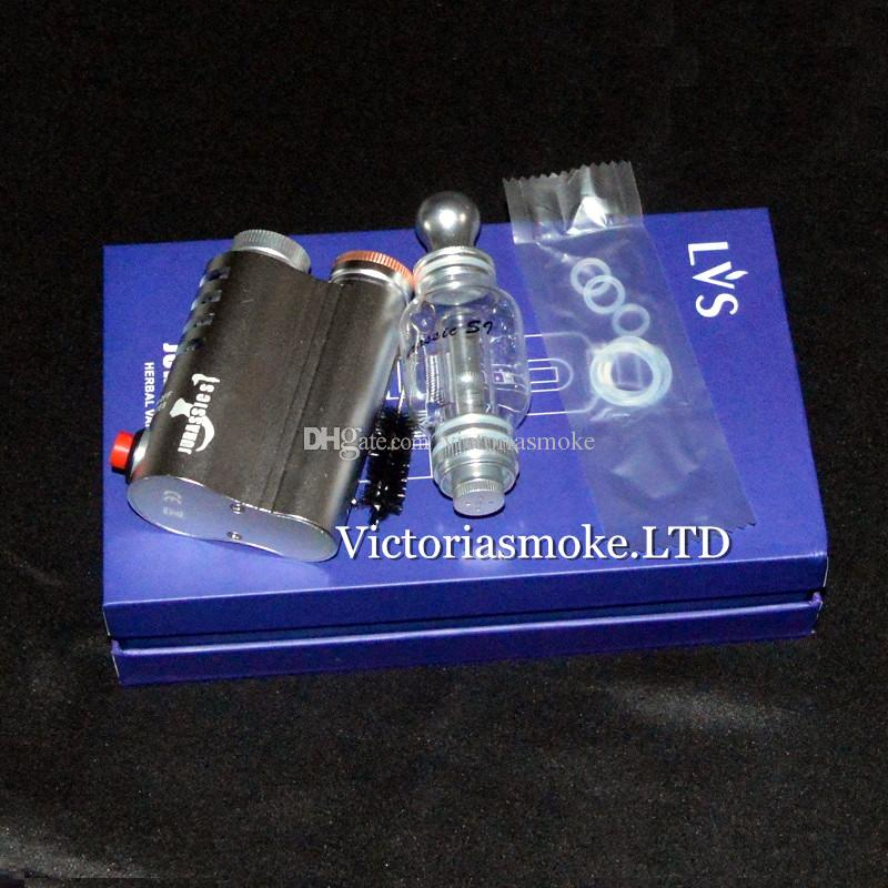 2016 New Arrival Jurassic S1 herb vaporizer mod water pipe original design by LVSMOKE Victoriasmoke ecigs Dry Herb Vaporizer