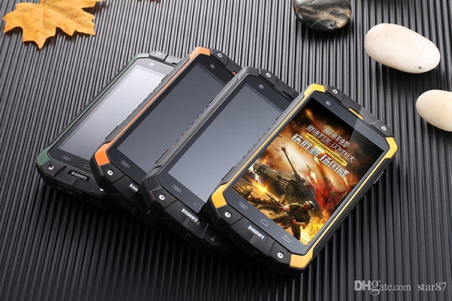 جديد الاصل الاكتشاف v9 ip68 وعرة الهاتف MTK6572 4 جيجابايت rom wcdma 3 جرام ريال للماء صدمات المزدوج سيم بطاقة خلية الهاتف المحمول الهاتف الذكي