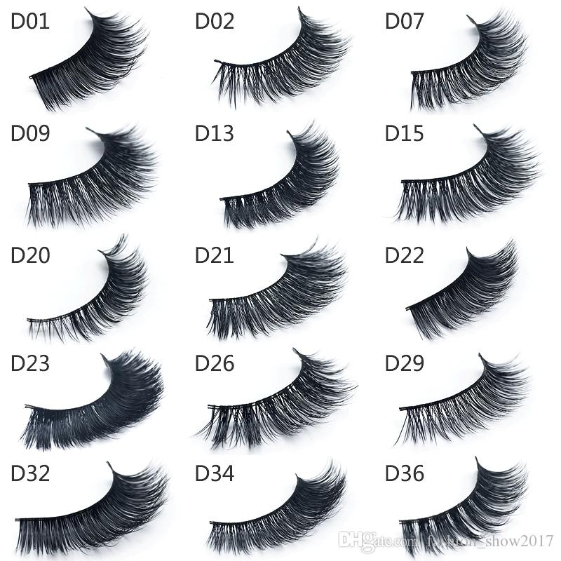 Natural False Eyelashes Fake Lashes Long Makeup 3d mink lashes Eyelash Extension Mink Eyelashes for Beauty