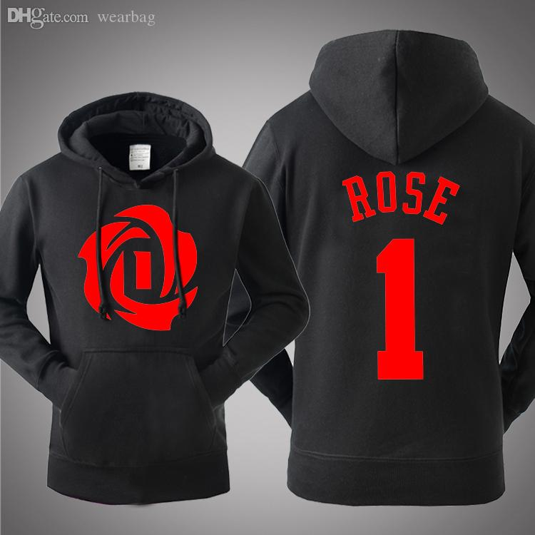 Wholesale 2016 Summer Fashion Derrick Rose Hoodies Sports Basketball  Sweatshirts Casual Men Plus Size Long Sleeve Sweatshirt UK 2019 From  Wearbag cdf53a3227ea