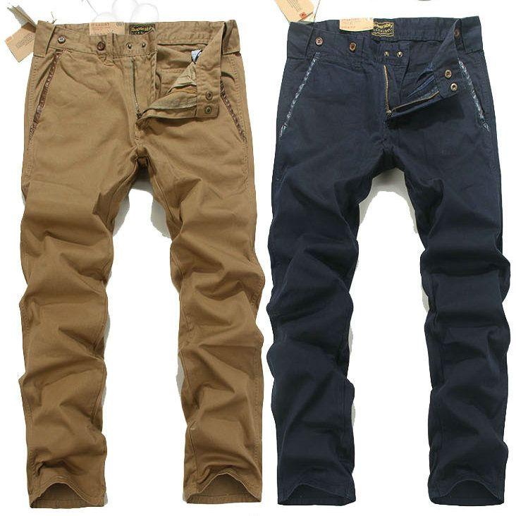 2016 Original Straight Slim Jeans Dark Blue Khaki Cotton Denim Jeans Marea Hombres Casual Jeans Slim Fashion Thin Section Jeans TOP Sail