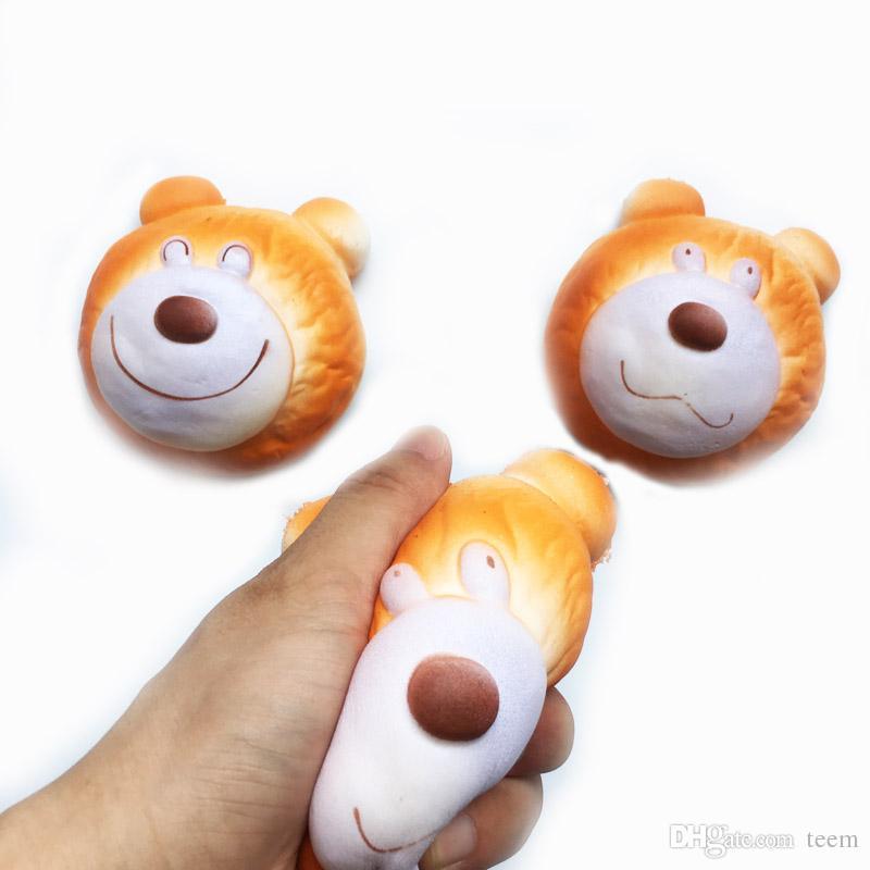 Мягкая игрушка гамбургер кролик собака медведь squishies медленно растет 10 см 11 см 12 см 15 см мягкое сжатие милый ремень подарок стресс детские игрушки D10 10