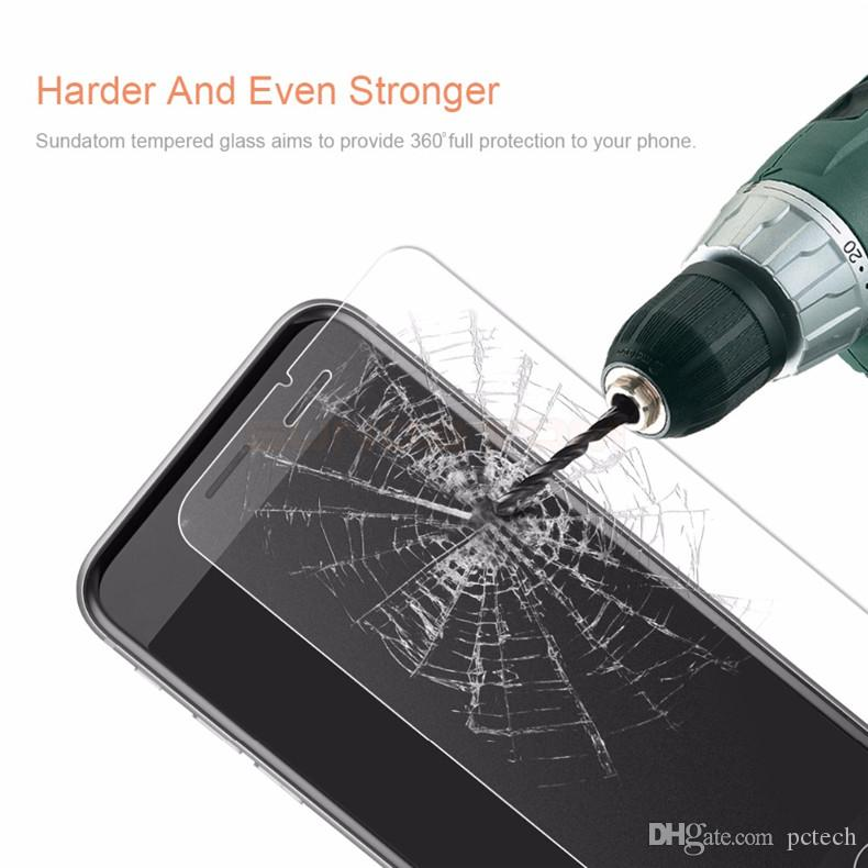 Frosted Tempered Glass Screen Protector Anti-fingerprint for Iphone 6 PLUS Iphone 6 5S SE 2.5D Arc Screen film