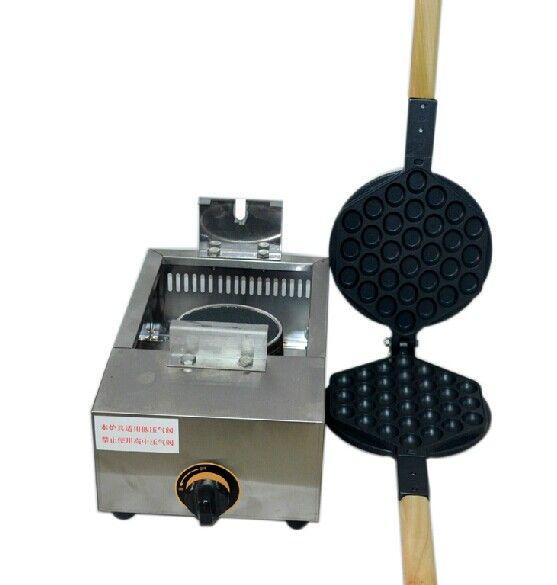 Le type de gaz gaufrier aux oeufs de Hong Kong fabrique un gaufrier pour casseroles à oeufs antiadhésif à usage commercial