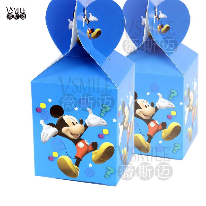 Masha & Bear cartoon lovely festival favor wedding birthday party decoration paper candy box Gift Box Cupcake Box suppliers