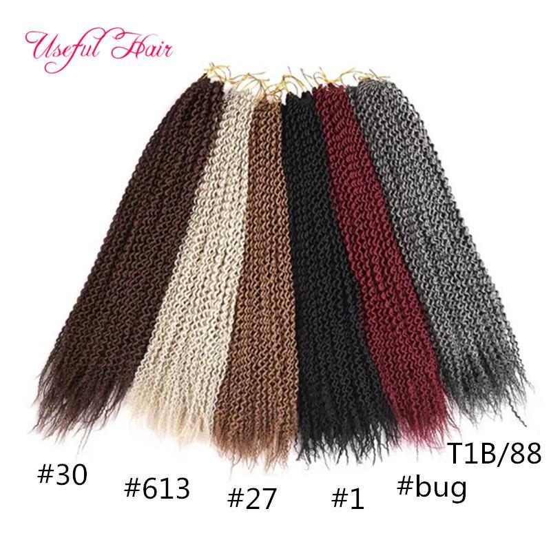 CHEAP 24INCH Island twist crochet hair extensions,synthetic braiding hair senegalese zizi braids JANET COLLACTION faux locs braids crochet