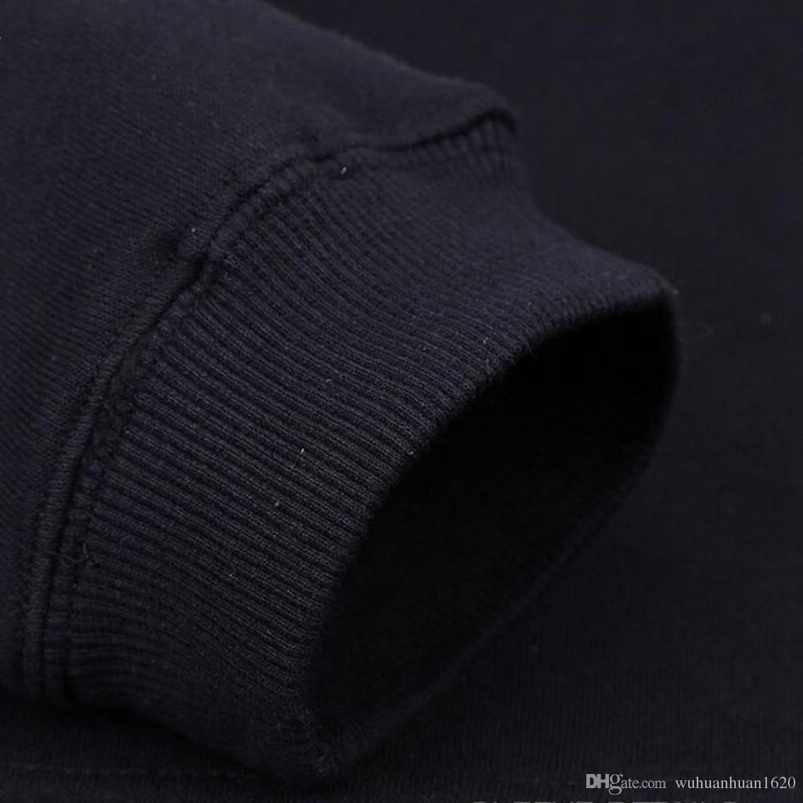 Hoodies dos homens de algodão mistura de lã jogo de tronos homens moletom com capuz moletom inverno masculino casual está vindo hoodies homens