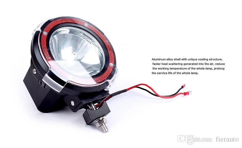 4 Inch 35W HID Work Light 12V Off Road Xenon Driving Fog Spot Light Lamp 4X4 4WD Truck ATV Offroad SUV High Quality