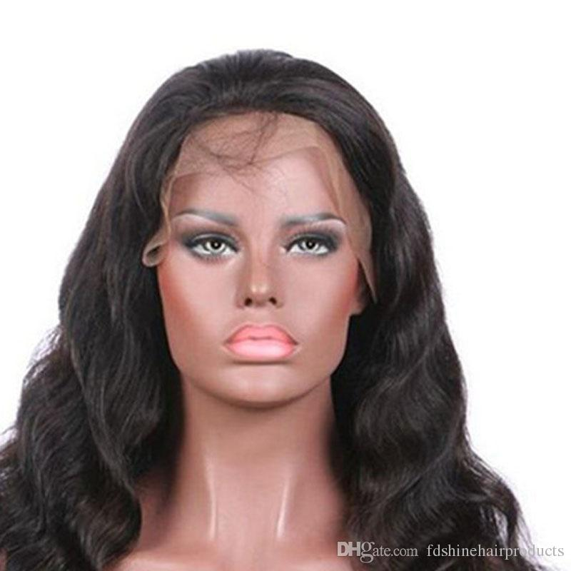 130% Density Virgin Malaysian Hair Wigs Cheap Glueless Body Wave Lace Front Wigs For Black Women FDSHINE HAIR
