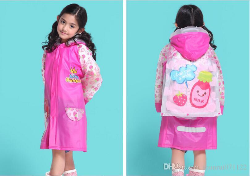 cartoon children raincoat style animal shaped children poncho baby raincoat funny raincoat Wholesale