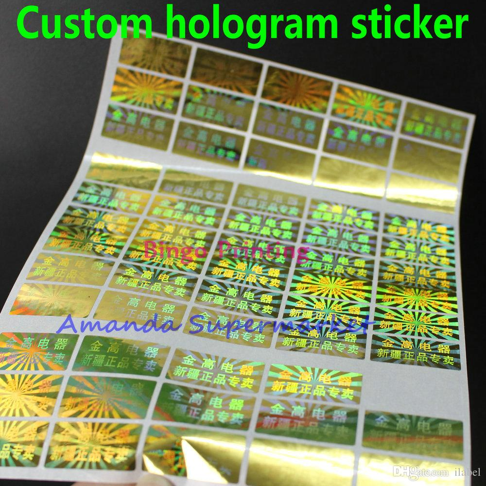 2019 accept custom hologram laser tamper evident 3d holographic sticker sticker warranty anti fake void if remove sticker from ilabel 55 28 dhgate com